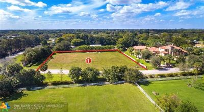 Fort Lauderdale Residential Lots & Land For Sale: 5973 SW 128th Ave