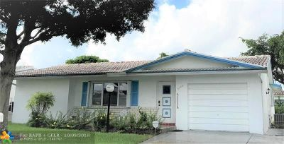 Plantation Single Family Home For Sale: 8940 NW 14th St