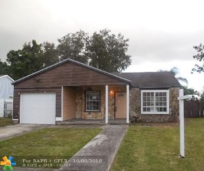 Davie Single Family Home For Sale: 12820 SW 15th Mnr