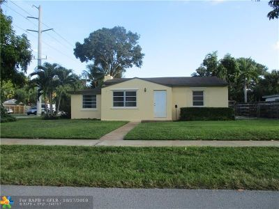 Fort Lauderdale Single Family Home For Sale: 847 SW 18th Ct