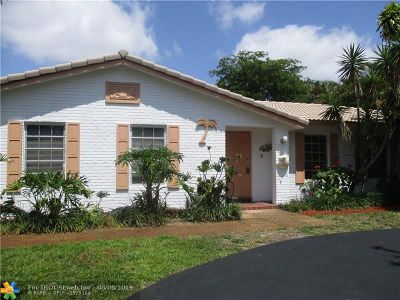 Broward County Single Family Home For Sale: 8398 NW 16th St