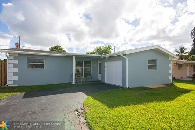 Sunrise Single Family Home For Sale: 8610 NW 28th Pl