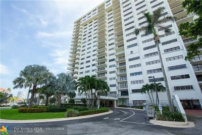 Fort Lauderdale Condo/Townhouse For Sale: 3200 Port Royale Dr #2109