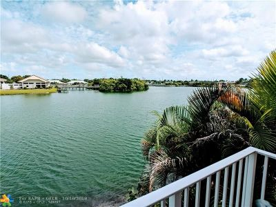 Oakland Park Condo/Townhouse For Sale: 3295 NW 44th St #2