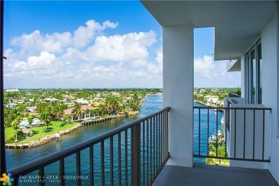 Pompano Beach Condo/Townhouse For Sale: 1609 N Riverside Dr #904