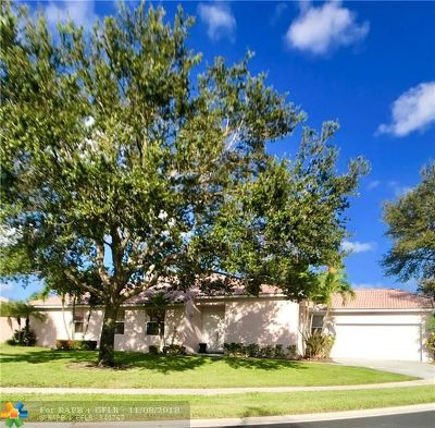 Boynton Beach Single Family Home For Sale: 10884 Fillmore Dr