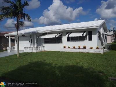 Tamarac Single Family Home For Sale: 4908 NW 45th Ter