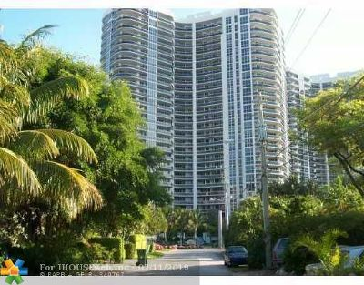 Fort Lauderdale Condo/Townhouse For Sale: 3200 N Ocean Bl #807