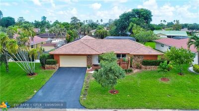 Coral Springs Single Family Home For Sale: 8677 SW 1st Pl