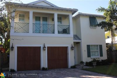 Fort Lauderdale Single Family Home Backup Contract-Call LA: 716 SE 8th St