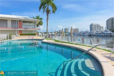 Fort Lauderdale Condo/Townhouse For Sale: 2700 Yacht Club Blvd #7G