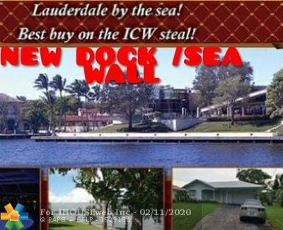Pompano Beach Single Family Home For Sale: 2071 Blue Water Ter