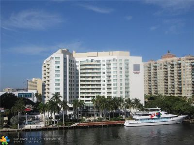 Fort Lauderdale Condo/Townhouse For Sale: 2670 E Sunrise Blvd #603