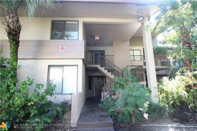 Coral Springs Condo/Townhouse For Sale: 9503 NW 2nd Pl #3B