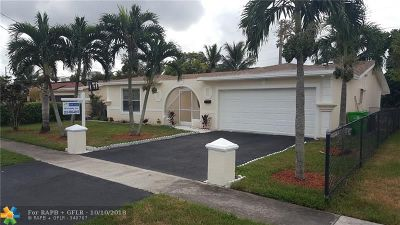 Sunrise Single Family Home For Sale: 8210 NW 20th Ct
