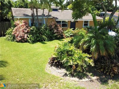 Oakland Park Single Family Home For Sale: 440 NW 35th Ct