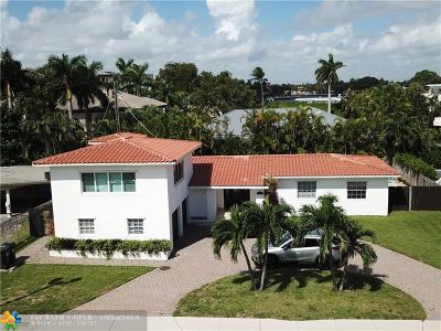 Fort Lauderdale Single Family Home For Sale: 1217 Seabreeze Blvd