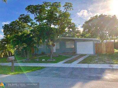 Pompano Beach Single Family Home For Sale: 4721 NE 17th Ave