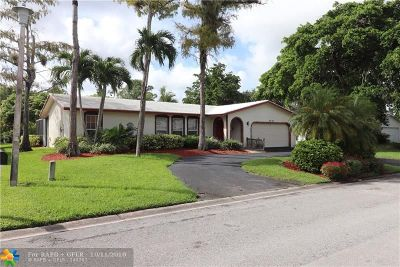 Coral Springs Single Family Home For Sale: 9242 NW 13th Pl