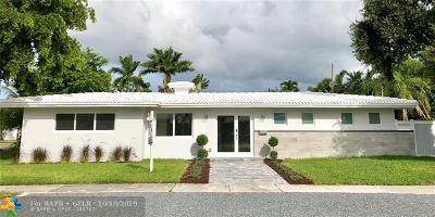 Fort Lauderdale Single Family Home For Sale: 2020 N Victoria Park Rd