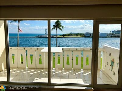 Fort Lauderdale Condo/Townhouse For Sale: 2100 S Ocean Dr #3H