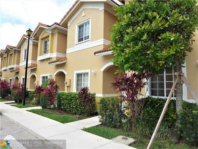 Tamarac Condo/Townhouse For Sale: 5933 Riverside Ave #5933