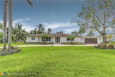 Plantation Single Family Home For Sale: 11700 NW 4th St