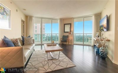 Fort Lauderdale Condo/Townhouse For Sale: 347 N New River Dr #2810