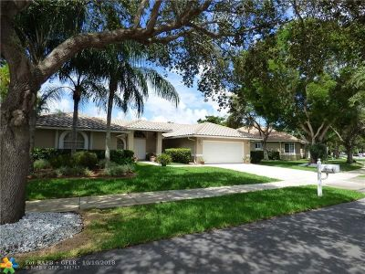 Coconut Creek Single Family Home Backup Contract-Call LA: 5515 NW 41st Ter