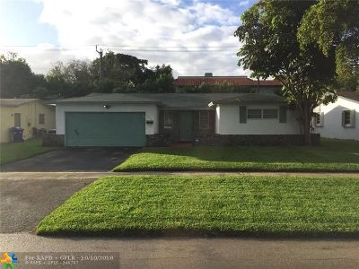 Lauderhill Single Family Home For Sale: 5700 NW 11