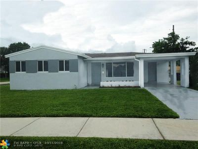 Fort Lauderdale Single Family Home For Sale: 3100 SW 17th St