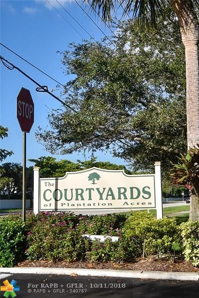 Plantation Condo/Townhouse For Sale: 101 NW 115th Ave #201