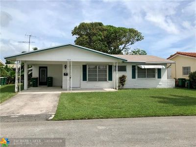 Tamarac Single Family Home For Sale: 4713 NW 49th Dr
