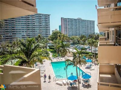 Fort Lauderdale Condo/Townhouse For Sale: 3300 NE 36th St #419