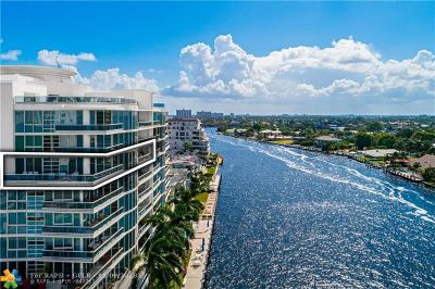 Fort Lauderdale Condo/Townhouse For Sale: 715 Bayshore Dr #802