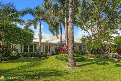 Lighthouse Point Single Family Home Backup Contract-Call LA: 3801 NE 29th Ave