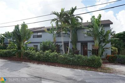 Fort Lauderdale Condo/Townhouse For Sale: 3010 NE 21st Ter #3010