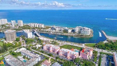Boca Raton Condo/Townhouse For Sale: 1099 S Ocean Blvd #405