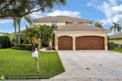Coral Springs Single Family Home For Sale: 5724 NW 50th St