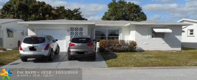 Margate Single Family Home For Sale: 7205 NW 9th Ct