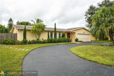 Coral Springs Single Family Home For Sale: 10580 NW 43rd Ct