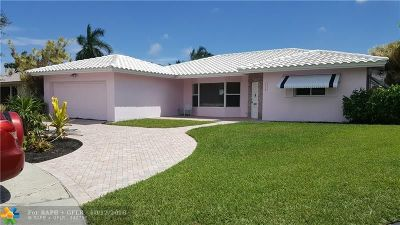 Fort Lauderdale Single Family Home For Sale: 1830 NE 65th Ct