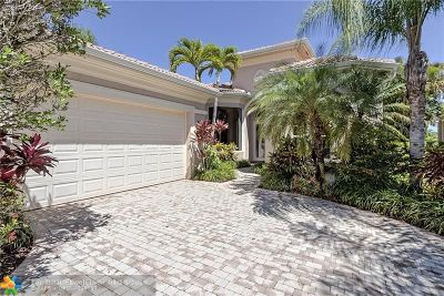 Palm Beach Gardens Single Family Home Backup Contract-Call LA: 273 Porto Vecchio Way
