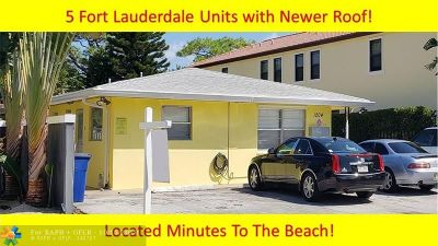 Fort Lauderdale Multi Family Home Backup Contract-Call LA: 1204 NE 17th Way