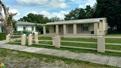 Miami Gardens Single Family Home For Sale: 16015 NW 20th Ave
