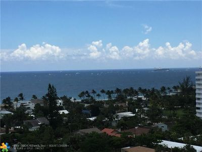 Condo/Townhouse For Sale: 3015 N Ocean Blvd #11K