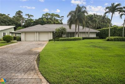 Boynton Beach Single Family Home For Sale: 11734 Dunes Rd