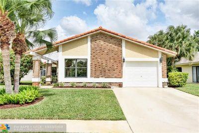 Boca Raton Single Family Home For Sale: 19633 Back Nine Dr
