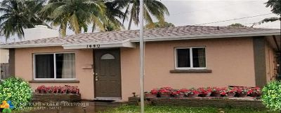 Wilton Manors Single Family Home For Sale: 1440 NE 24th Ct