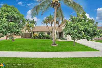 Lauderhill Single Family Home For Sale: 7471 NW 37th St